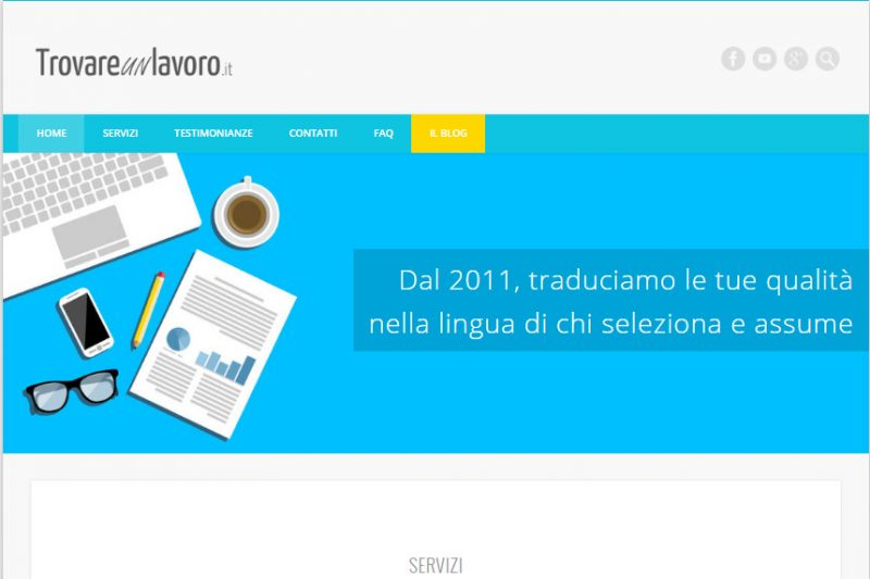 Foto 4 - Trovareunlavoro.it Screenshot homepage